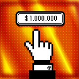 Million Dollars Button.