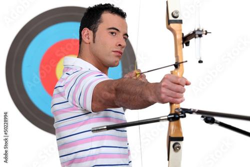 An archer.