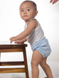 baby learning to stand