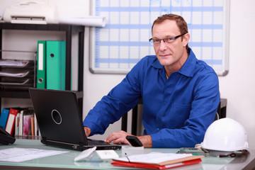 Managing professional office