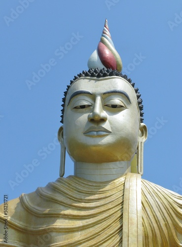 Buddha at wewurukannala Vihara temple in Sri Lanka