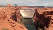 Glen Canyon Dam on the Colorado River. Arizona, USA