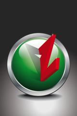 Button Zukunft rot