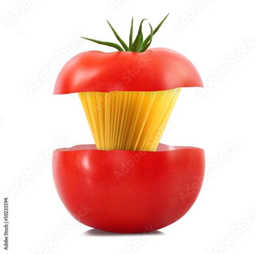 spaghetti in pomodoro
