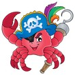 Pirate crab theme image 1