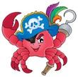 Pirate crab theme image 1