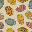 Easter seamless pattern. Vector, EPS10