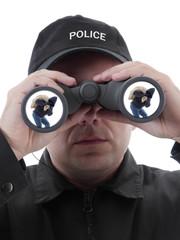 Spotted burglar