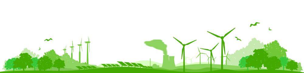 Landschaft Energiemix