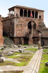Casa dei cavaliri di Rodi in Fori Imperiali at Rome