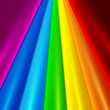 Rainbow colored trxtile set vector background