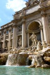Fontaine de Trévi à Rome - Italie