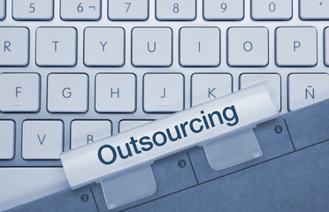 Outsourcing keyboard and folder