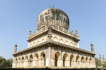Hyderabad, India landmark, the Qutb Shahi Tombs