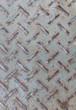 Steel floor texture
