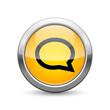 conversation icon internet button