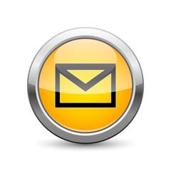 e-mail icon internet button