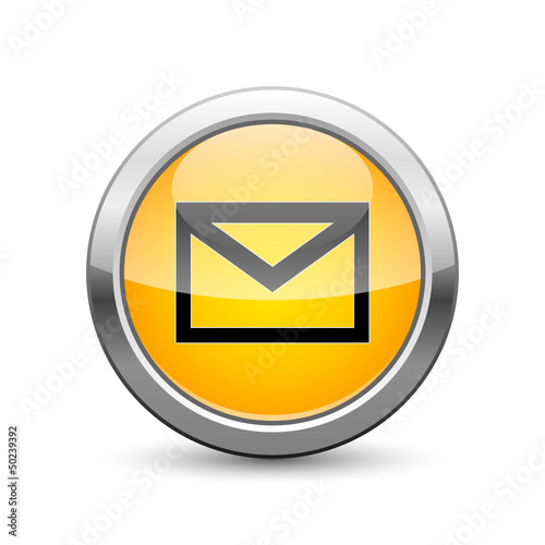 e-mail icon internet button
