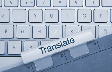 Translate keyboard and folder