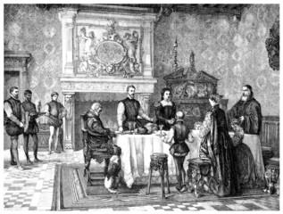 Praying Benedicite - Prière - Gebet - 16th century - Renaissance