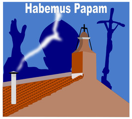 Fumata bianca - Habemus Papam