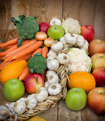 Healthy eating - organic food