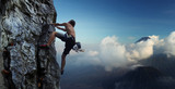 Fototapety Climber