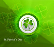 Abstract beautiful saint patricks day vector design