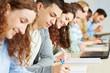 Prüfung im Seminar einer Universität