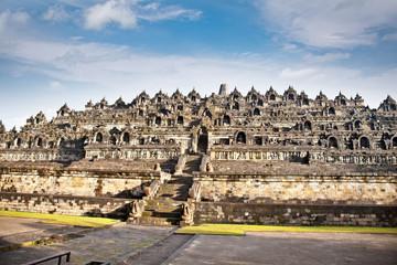 Borobudur mandala temple, near Yogyakarta on Java, Indonesia