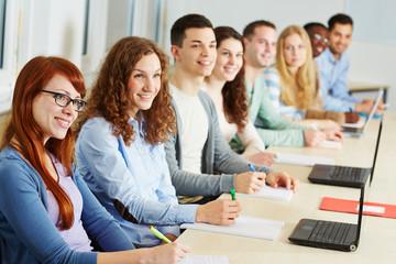 Lernen im Seminar einer Universität
