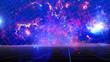 Abstract Space Galaxy background 3D