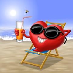 cuore in vacanza