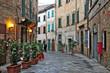Leinwandbild Motiv Lucignano, Arezzo - Toscana