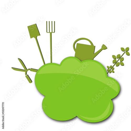 Logo jardin de graphlight fichier vectoriel libre de for Logo jardin