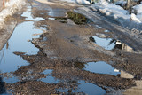 Potholes problematic on local roads