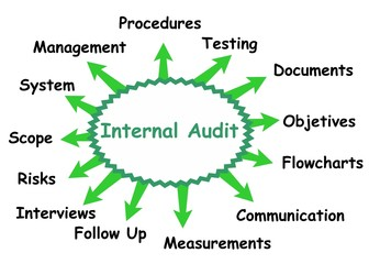 Internal audit concept