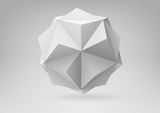 Small triambic icosahedron for your graphic design - 50250532