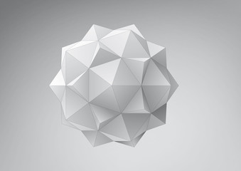 Dodecahedron-Icosahedron compound figure