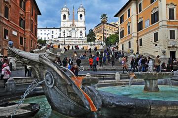 Roma, Trinita' dei Monti