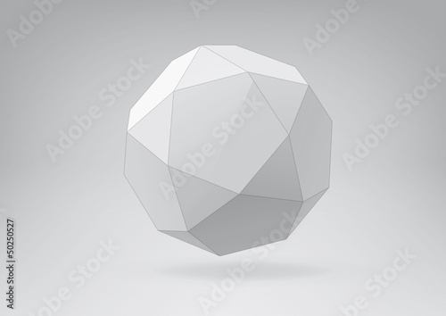 Icosidodecahedron for your graphic design