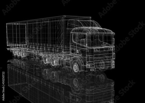 Fototapeten,freight,vehicle,fracasso,verkehr