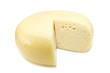 round yellow cheese