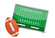 Football field tactic table, Football balls