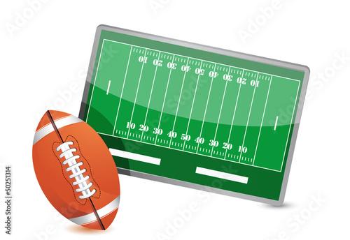 Football field tactic table, Football balls