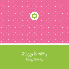 Greeting card, vector