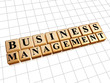 business management in golden cubes