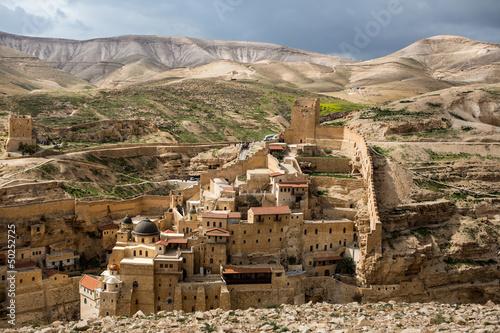 Fotobehang Midden Oosten Marsaba monastery