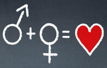 Partnerschaft gleich Liebe