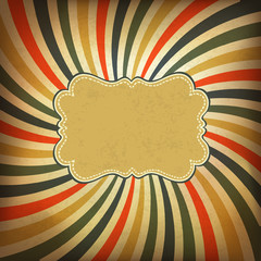Grunge vintage background. Vector, EPS10